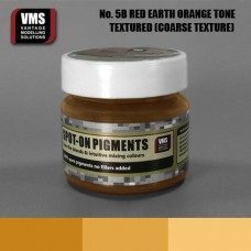 VMS Pigment No. 05b COARSE TEX Red Earth Orange Tone 45 ml