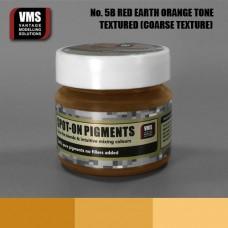 VMS Pigment No. 05b COARSE TEX Red Earth Orange Tone 45 ml