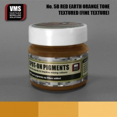 VMS Pigment No. 05b FINE TEX Red Earth Orange Tone 45 ml