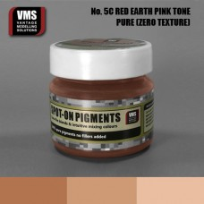 VMS Pigment No. 05c ZERO TEX Red Earth Pink Tone 45 ml