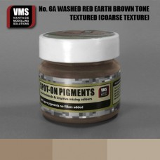 VMS Pigment No. 06a COARSE TEX Red Earth Washed Brown Tone 45 ml