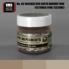 VMS Pigment No. 06a FINE TEX Red Earth Washed Brown Tone 45 ml
