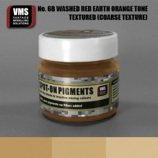 VMS Pigment No. 06b COARSE TEX Red Earth Washed Orange Tone 45 ml