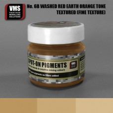 VMS Pigment No. 06b FINE TEX Red Earth Washed Orange Tone 45 ml