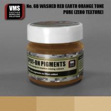 VMS Pigment No. 06b ZERO TEX Red Earth Washed Orange Tone 45 ml