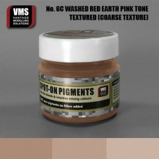 VMS Pigment No. 06c COARSE TEX Red Earth Washed Pink Tone 45 ml