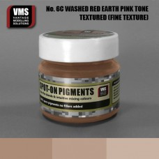VMS Pigment No. 06c FINE TEX Red Earth Washed Pink Tone 45 ml