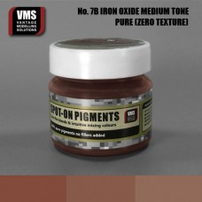 VMS Pigment No. 07b ZERO TEX Dark Iron Oxide Old Rust Medium Tone 45 ml
