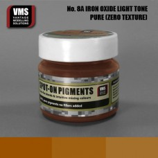 VMS Pigment No. 08a ZERO TEX Light Iron Oxide Fresh Rust 45 ml