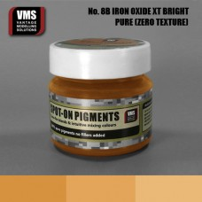 VMS Pigment No. 08b ZERO TEX Light Iron Oxide Fresh Rust XT Bright 45 ml