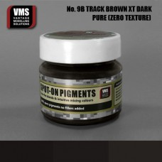 VMS Pigment No. 09b ZERO TEX Track Brown XT Dark 45 ml