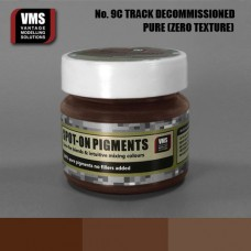 VMS Pigment No. 09c ZERO TEX Track Brown Decommissioned 45 ml