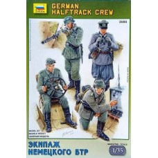 German Halftrack Crew 1/35
