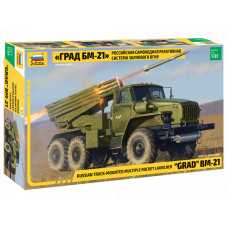 "Multiple Rocket Launcher BM-21 ""Grad"" 1/35"