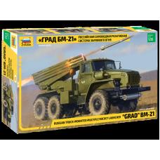 """Multiple Rocket Launcher BM-21 """"Grad"""" 1/35"""