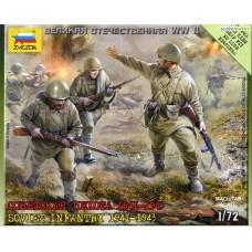 Soviet Infantry 1941-1943 1/72