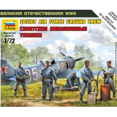 Soviet Air Force Ground Crew 1/72