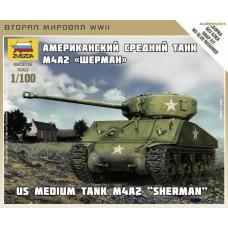 M4A2 Sherman 1/100